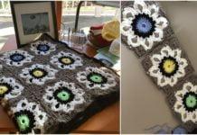 Crochet City Solarium Throw