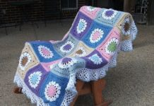 Crochet Annabel's Big Bed Blanket