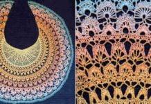 Crochet Birds of Paradise Shawl