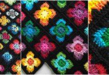 Crochet Retro Vibe Square