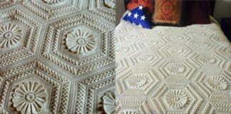 Crochet Blanket Pride of Boudoir