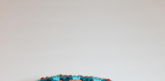 Double Crochet Cluster Blanket