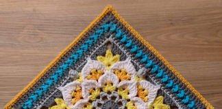 Crochet Felicitas Afghan Square