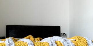 Crochet Honey Peaks Blanket