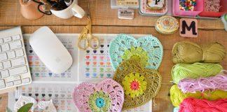 Crochet Granny Chic Heart